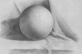 6 素描基础 几何体的画方法 球体 教程 CHARLES MAY 设计文章 教程...