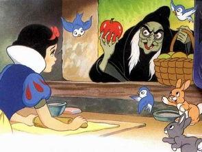 80后动画 白雪公主