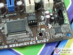 主板集成了ALC887 六声道音效芯片和千兆网络芯片.-青岛华硕P5...