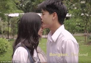 ...师记录下的各国情侣亲吻方式
