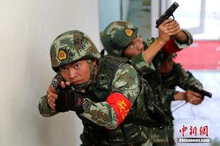 ...疆武警兵团官兵艰苦训练迎接国庆
