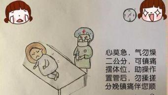 90后 助产士手绘暖心漫画 为聋哑孕产妇助产