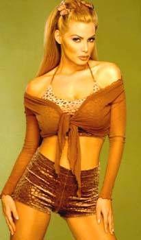 ...性感在线女郎 超模Cindy Margolis