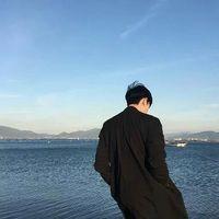 qq头像男生背影帅气图片