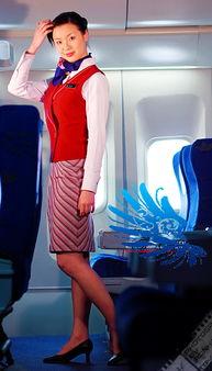 南航空姐世上最专业的笑容与丝腿