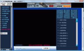 天天更新网络直播 V1.0 绿色版 不到200KB的绿色免安装电视软件