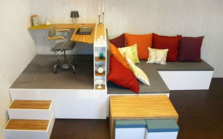 创意的沙发设计为客厅装修节省空间