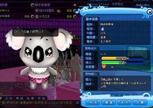 QQ炫舞宠物普通考拉,以后会有能力吗