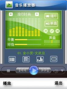 手机音乐播放器界面图片