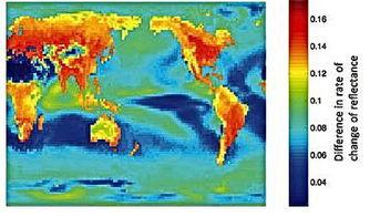 光的回归-...近红外线光反射回来,其反射变化率不同-研究新技术可助科学家识...