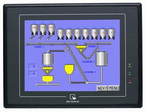 三菱触摸屏开机密码,用PLC程序怎么写