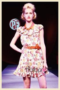 ...012春夏女装系列设计灵感来自