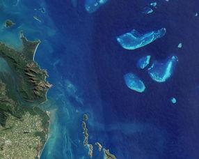 吉斯斯坦西南部彩色山脊.   字母i:安达曼群岛.