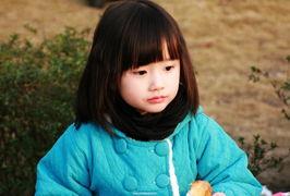超可爱的杭州小女孩
