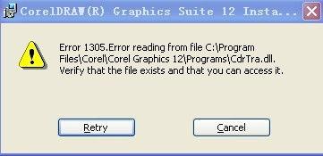...P4的,装上去不能用就卸载了,但CDR12装不了,怎么回事