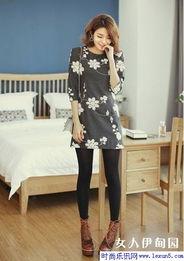 ...lexun5.com-服装搭配)-8款冬装连衣裙时髦穿法 穿出完美身材