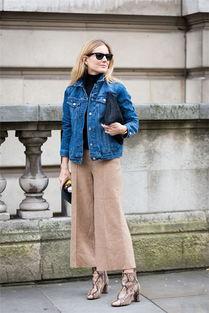 冬季牛仔外套搭配什么裤子好看图片欣赏,牛仔外套搭配什么裤子女,...