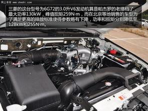 三菱的这台型号为6G72的3.0升V6发动机算是帕杰罗的老搭档了,最...