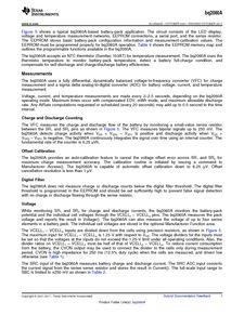 ...ents厂商 BQ2060A E619DBQG4 pdf预览第 7 页, datasheet数据手...