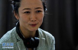 5月21日,电影《山河故人》的主演赵涛在法国戛纳接受新华社记者专...