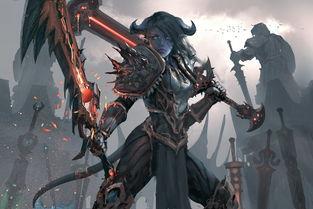 ...尼战士,将狂暴战神器中的一把换成了武器战的神器.-艺术与魔兽 ...