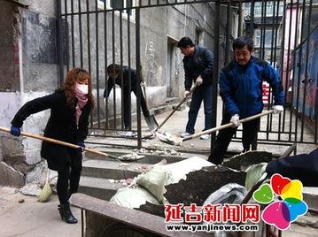 动,给市民营造一个好的生活环境... 民兴社区联系环卫处,清理了局子...