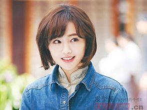 韩国流行中短发型