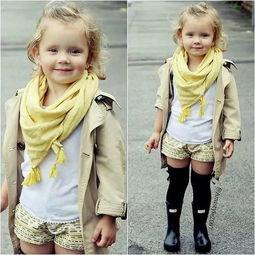 英国3岁小女孩Amelia超有明星范儿 火遍社交圈