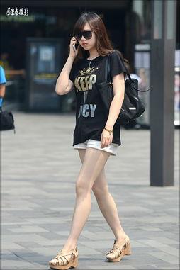 原生泰摄影 初夏穿短裤的清纯俏美眉