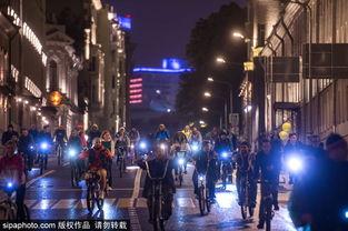 冰帝行都市-...间骑行活动点亮城市夜色