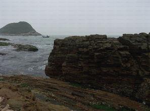 海边大海石头