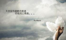 ...名图 天空没有翅膀的痕迹,而鸟儿已飞过