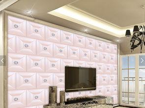 欧式时尚简约钻石软包珠宝装饰背景墙