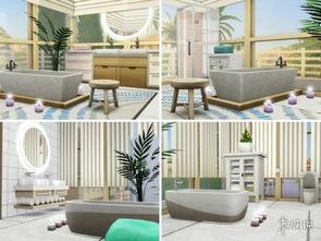 模拟人生4 绿洲之梦家庭别墅MOD V20190219