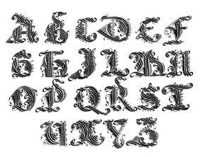 美到极致 练英文书法的人最喜欢哪些字体 附书写教程