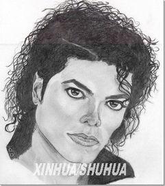 网友插画纪念流行音乐之王 迈克尔杰克逊