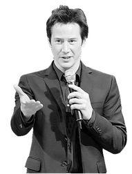 《地头蛇》举行亚洲记者会,接受访问时一听见袁和平名字即雀跃大叫...