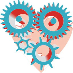 CDR绘制立体齿轮作业