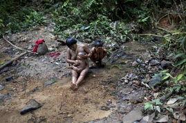 ...社曝委内瑞拉的印第安人部落生活