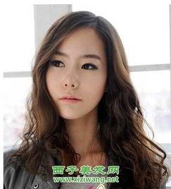 女生长发烫发发型设计 7