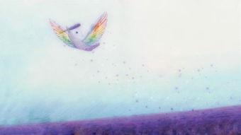 ...射手里的绘本 彩虹鸟 类似这样的名字