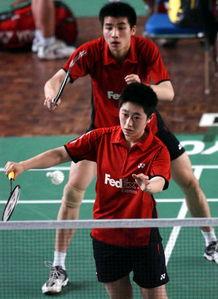 羽毛球亚锦赛 张伟 于洋力克越南组合