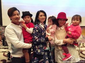 蔡少芬携全家出席-洪欣女儿周岁生日 朱茵蔡少芬妈妈团祝贺
