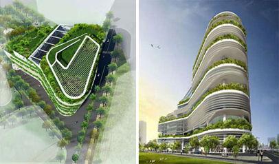历数全球14大著名的未来派绿色建筑设计