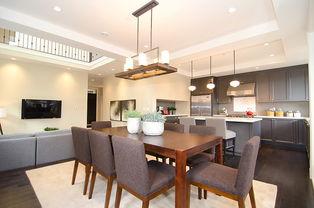...具2层别墅大气家庭餐桌图片-装修效果图案例 2017年装修效果图 齐...