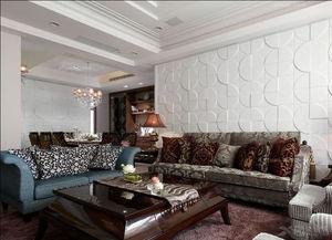 打造传统大气沙发背景墙装修效果图