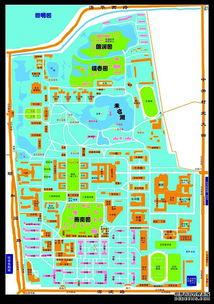 北京大学校园平面图-北京大学考研生存手册