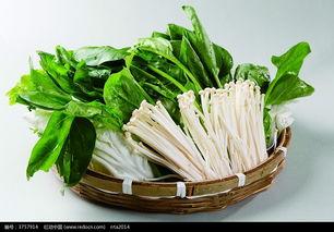 清汤火锅白菜菠菜