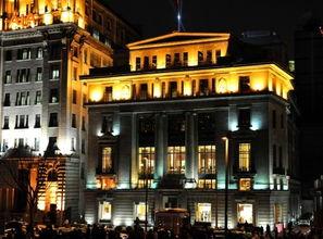 ...位于外滩南京东路口,原名麦加利银行的外滩十八号楼,曾是英国渣...