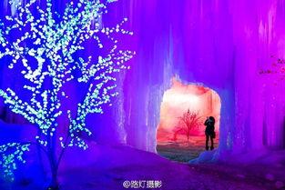 平山沕沕水 看如梦似幻的冰瀑世界
